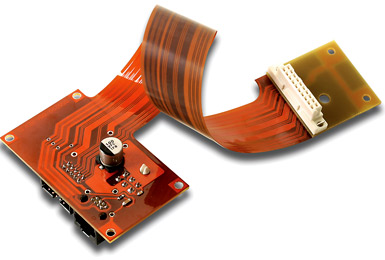 Flexible circuits are  used in the medical,  instrumentation, military, aerospace, and telecommunications industries.