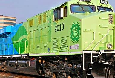 GE Transportation's new high-tech locomotives will be built in Fort Worth, Texas.