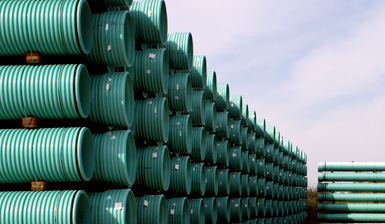 Plastic piping is expected to be a growth market as infrastructure projects expand