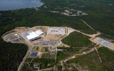 Aerial Image: GLOBALFOUNDRIES' Fab 8 Site