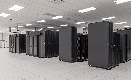 Inside A Stream Data Center Facility