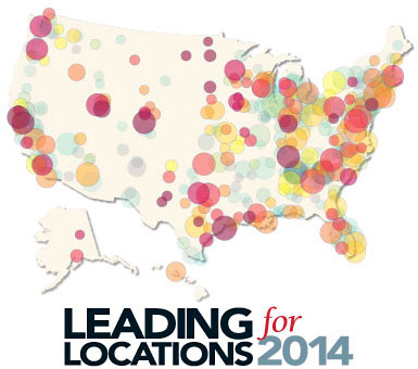 Leading Locations For US Metros Ranked For Economic And - Us map job growth