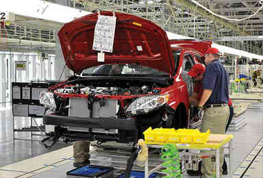 Toyota manufacturing facility, Tupelo, Mississippi