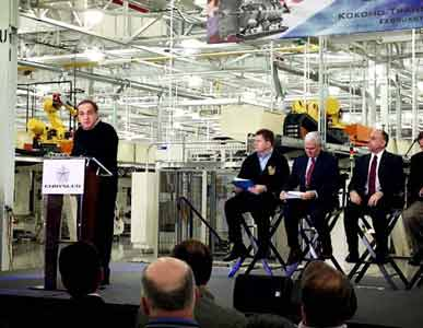 Chrysler will add 1,250 jobs in Kokomo, Indiana, to build its new 9-speed automatic transmission.