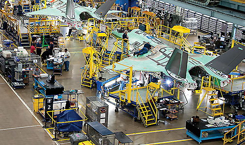 Controlling Conditions in Aerospace Manufacturing Facilities